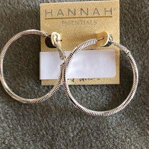 Hannah Large Hoop Earrings